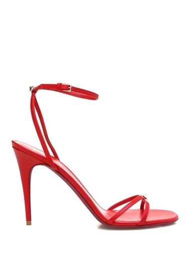 Valentino Garavani Sandalet Kırmızı